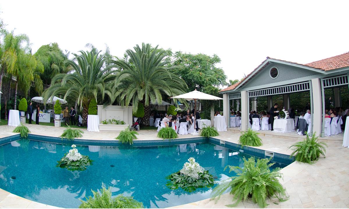 Piscina jardines espacio para celebraciones de bodas - Jardines con piscinas ...
